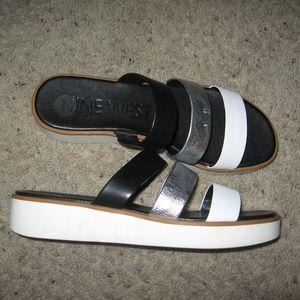 Nine West Platform Sandals - 10 1/2